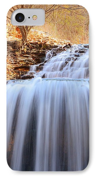 Tanyard Creek Waterfall Arkansas IPhone Case