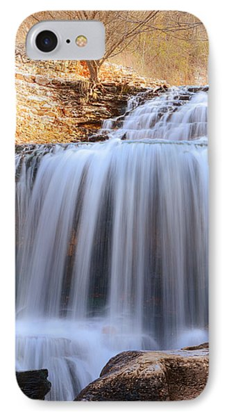 Tanyard Creek Waterfall Bella Vista Arkansas IPhone Case
