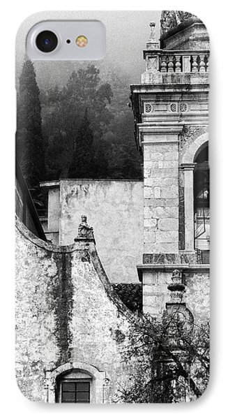 Taormina Church Detail IPhone Case by Silvia Ganora