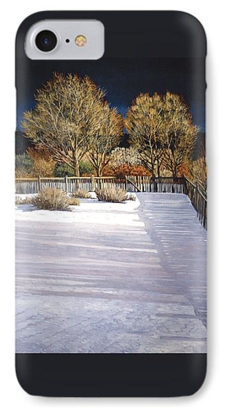 Taos Afternoon Shadows IPhone Case by Donna Clair