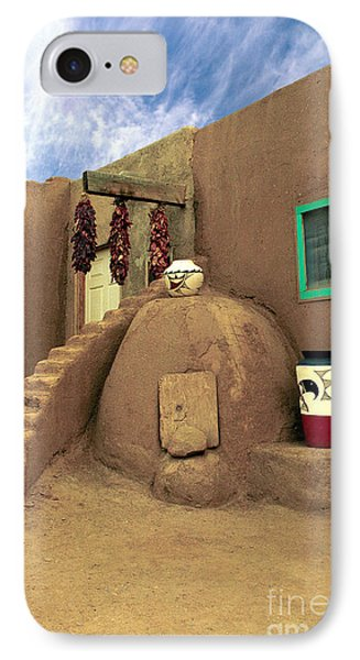 Taos Oven Phone Case by Jerry McElroy