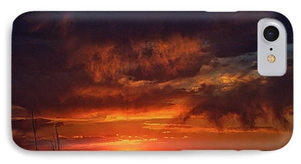 Taos Virga Sunset IPhone Case