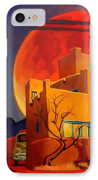 Taos Wolf Moon IPhone Case by Art West