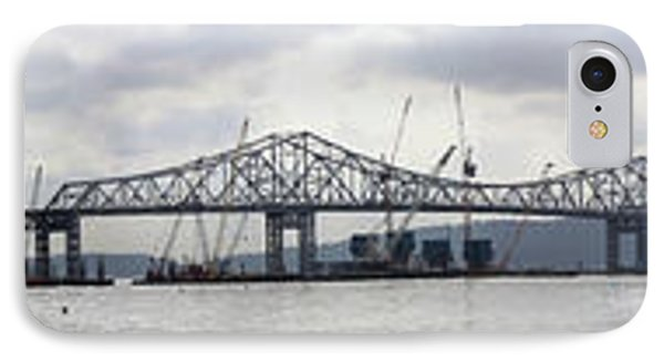 Tappan Zee Bridge From Tarrytown IPhone Case by Suhas Tavkar