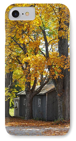 Tar Paper Shack Phone Case by Tim Nyberg