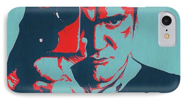 Tarantino Pop Art IPhone Case by Dan Sproul