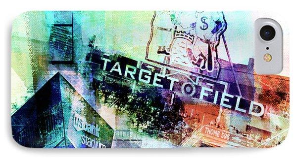 Target Field Us Bank Staduim  IPhone Case by Susan Stone
