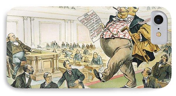 Tariff Lobbyist, 1897 Phone Case by Granger