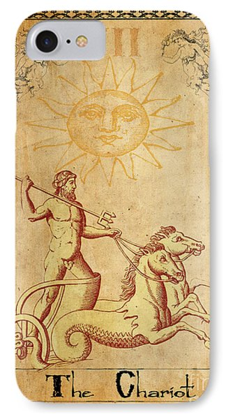 Tarot Card The Chariot IPhone Case