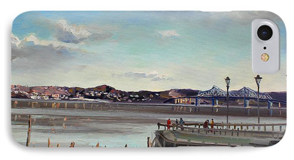 Tarrytown View IPhone Case by Ylli Haruni
