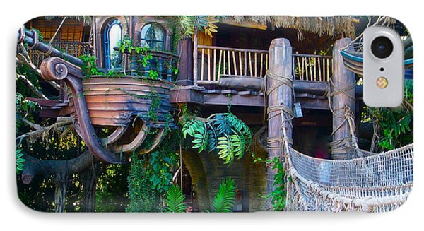 Tarzan Treehouse IPhone Case