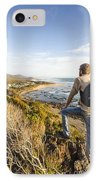 Tasmania Bushwalking Tourist IPhone Case by Jorgo Photography - Wall Art Gallery