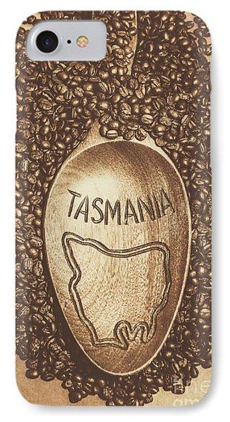 Tasmania Coffee Beans IPhone Case