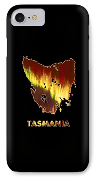 Tasmania - Southern Lights - Aurora Hunters IPhone Case by Anastasiya Malakhova
