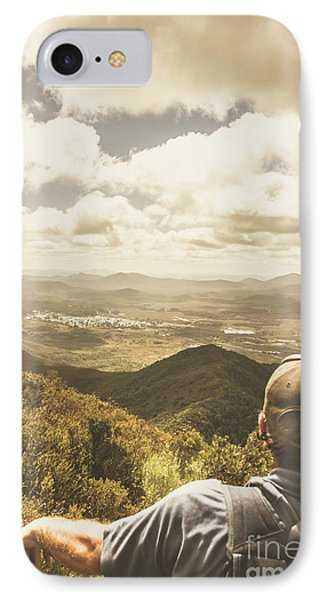 Tasmanian Hiking View IPhone Case