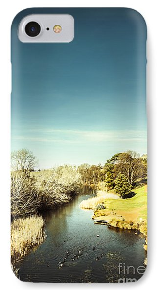 Tasmanian River Landscapes IPhone Case by Jorgo Photography - Wall Art Gallery