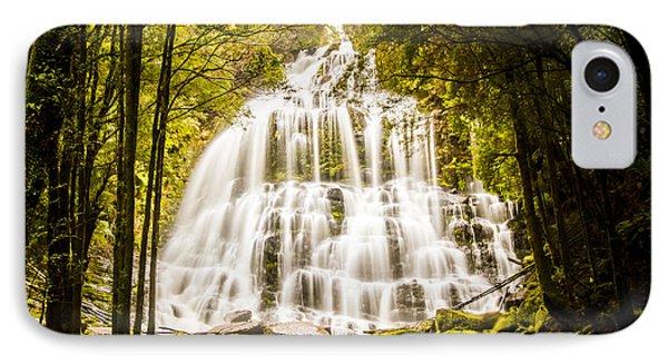 Tasmanian Waterfalls IPhone Case
