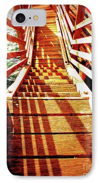Tathra Wharf Stairs IPhone Case by Lexa Harpell