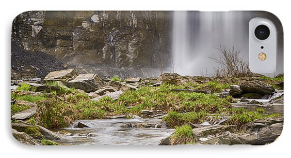 Taughannock Falls Base IPhone Case by Stephen Stookey