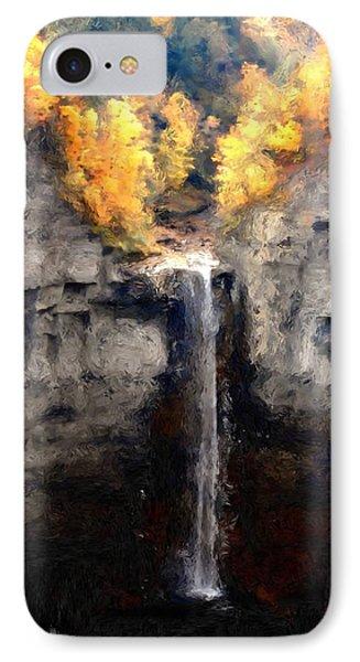 Taughannock Falls IPhone Case by David Lane