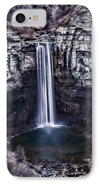 Taughannock Falls Late Autumn IPhone Case by Stephen Stookey