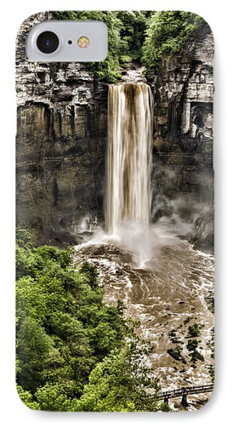 Taughannock Falls IPhone Case by Stephen Stookey