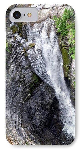 Taughannock Falls Upper Rim Trail Phone Case by Christina Rollo