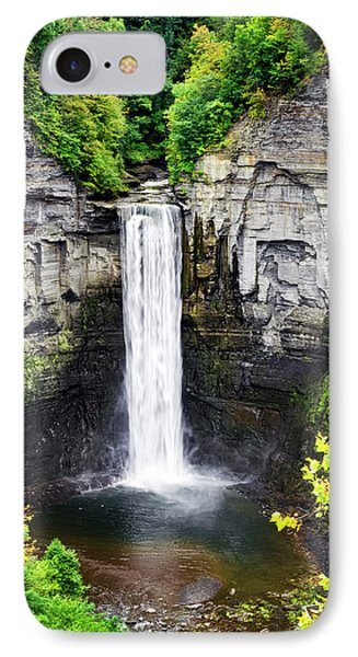 Taughannock Falls View From The Top IPhone Case