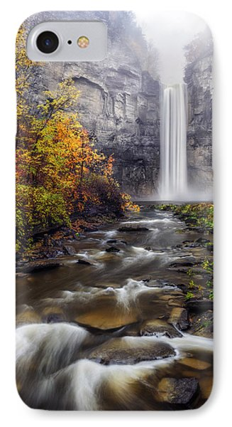 IPhone Case featuring the photograph Taughannock Fog by Mark Papke