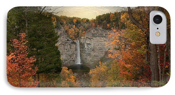 Taughannock Foliage IPhone Case by Jessica Jenney