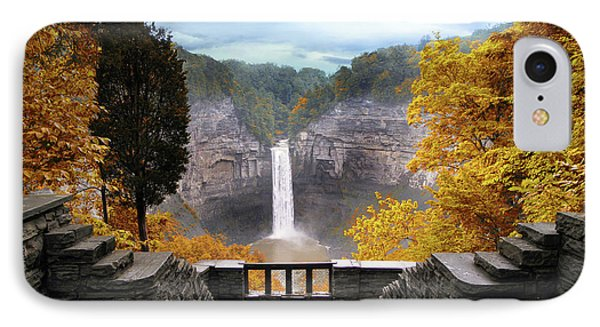 Taughannock In Autumn IPhone Case by Jessica Jenney