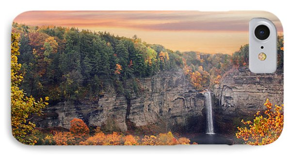 Taughannock Sunset IPhone Case by Jessica Jenney