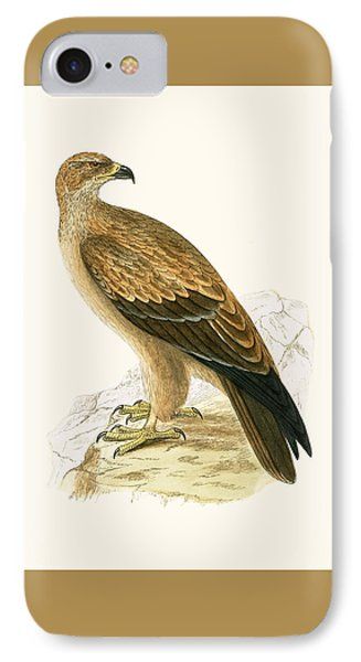 Tawny Eagle IPhone Case by English School