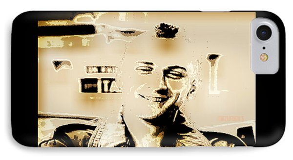 Taxi Driver 1 IPhone Case by Magz Ojeda