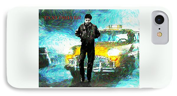 Taxi Driver Poster One IPhone Case by John Malone