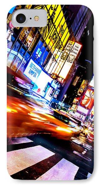 Taxi Square IPhone 7 Case by Az Jackson