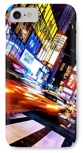 Taxi Square IPhone Case by Az Jackson