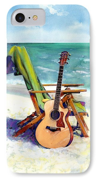 Taylor At The Beach IPhone Case by Andrew King