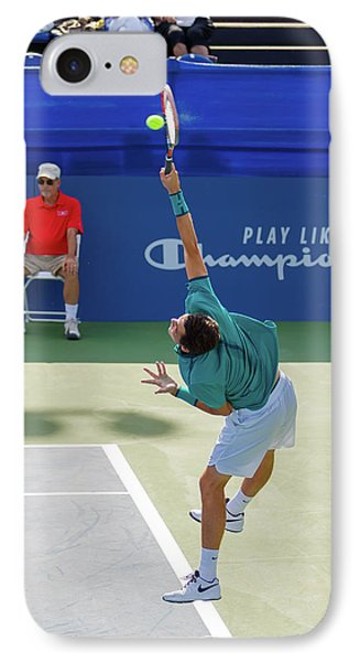 Taylor Fritz Plays In The Winston-salem Open. IPhone Case