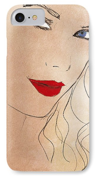Taylor Red Lips IPhone 7 Case