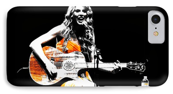 Taylor Swift 9s IPhone 7 Case by Brian Reaves