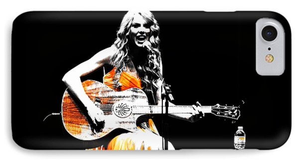 Taylor Swift 9s IPhone Case by Brian Reaves