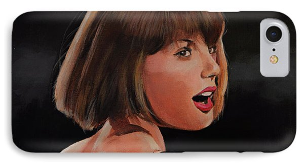Taylor Swift IPhone 7 Case by Bill Dunkley