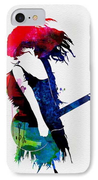 Taylor Watercolor IPhone 7 Case by Naxart Studio