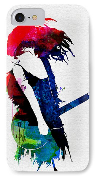 Taylor Watercolor IPhone Case by Naxart Studio