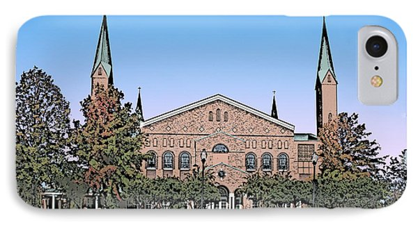 Taylors First Baptist Church IPhone Case by Greg Joens