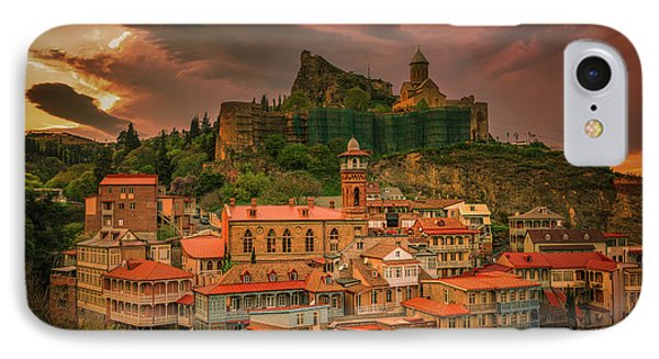 Tbilisi View IPhone Case by John Wright