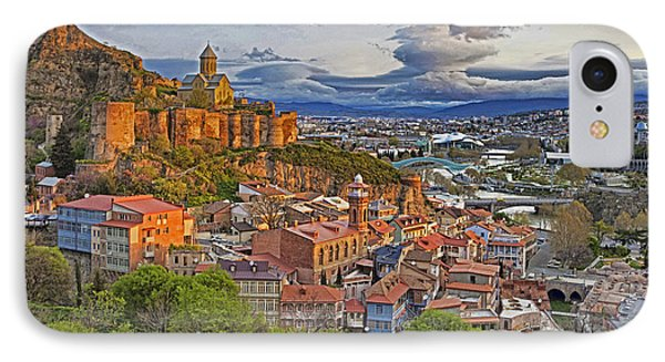 Tblisi Dawn IPhone Case by Dennis Cox WorldViews