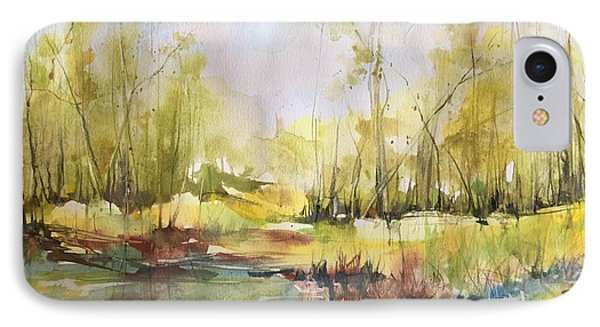 Tchefuncte River Series IPhone Case by Robin Miller-Bookhout