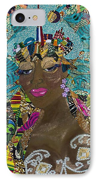 IPhone Case featuring the tapestry - textile Tdot Caribana by Apanaki Temitayo M